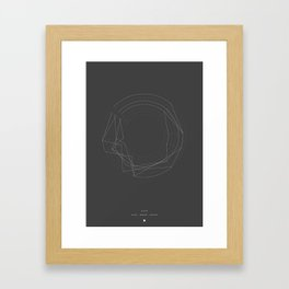 Guitar Tunings - Goo by The Pixies Framed Art Print