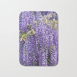 A Shower Of Purple Wisteria Bath Mat