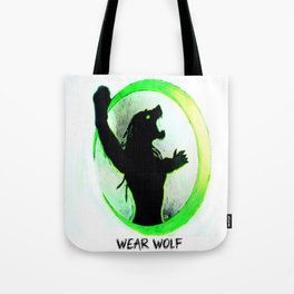 Wear Wolf Tote Bag