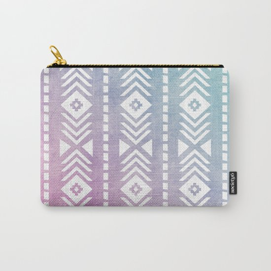 Aztec Pattern 12 Carry-All Pouch