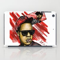 jay z iPad Cases featuring Jay Z by C.Love Designs
