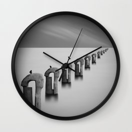 Sea of Fog Wall Clock