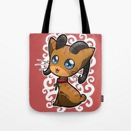 Zodiac Cats - Aries Tote Bag