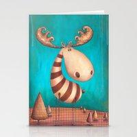 finn Stationery Cards featuring FINN by Caroletta