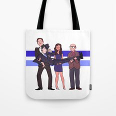 New York's Most Wanted Tote Bag