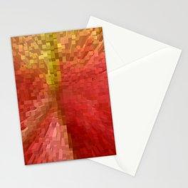 Columns of orange Stationery Cards