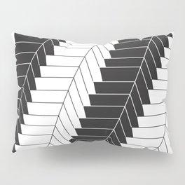 Feather Staircase Illusion Pillow Sham