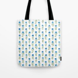 bluebutton wildflowers Tote Bag