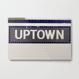 Uptown Metal Print