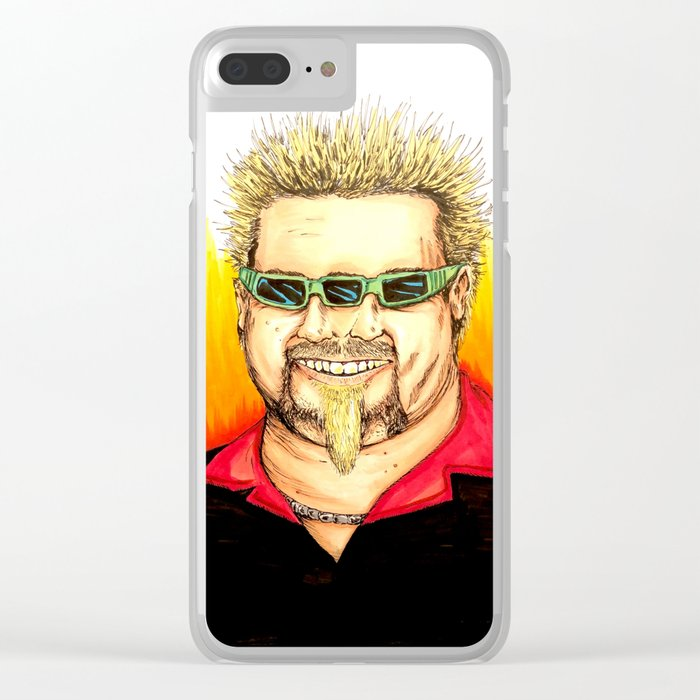 Flavor Town Clear iPhone Case