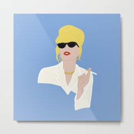 'Icons' Patsy Stone - Absolutely Fabulous Metal Print