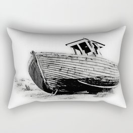 Dungeness Boat Rectangular Pillow
