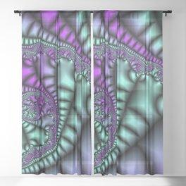 Cocoon Fractal Sheer Curtain