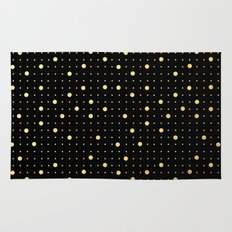 Pin Points Gold Rug