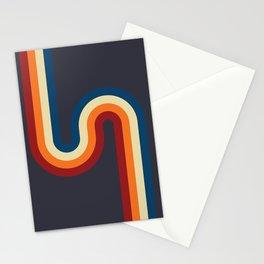 Simply More Retro Curves Stationery Cards