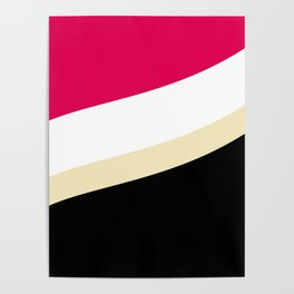 Abstract Wave pattern 1 Poster