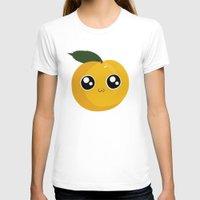 peach T-shirts featuring Peach by GarethAdamson