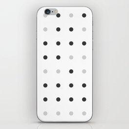 Binary love minimalist iPhone Skin