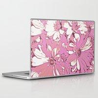 daisy Laptop & iPad Skins featuring Daisy  by Saundra Myles