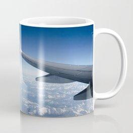 Flying over the Alps Coffee Mug