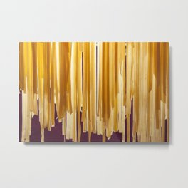 Sundried stripes Metal Print