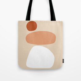 Shape Study #9 - Stacking Stones Tote Bag