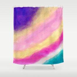Rainbow Clouding Shower Curtain