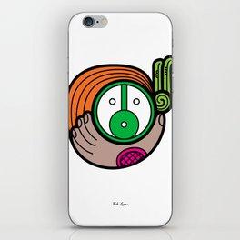 Green Child - Niño Verde iPhone Skin