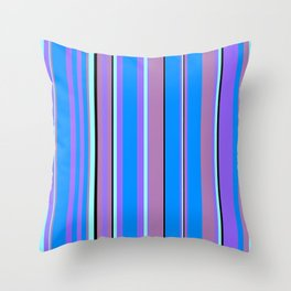 Stripes-009 Throw Pillow