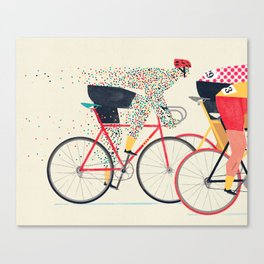 Tour de France Canvas Print