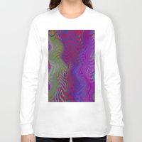 vertigo Long Sleeve T-shirts featuring Vertigo by RingWaveArt