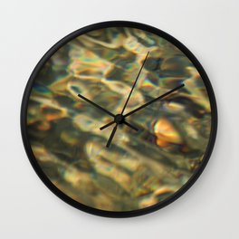 water pattern Wall Clock