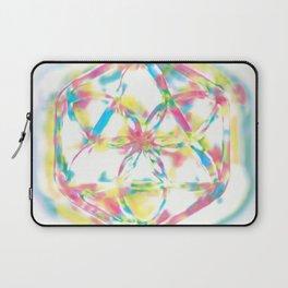 rainbow mandala Laptop Sleeve