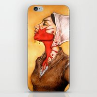 abigail larson iPhone & iPod Skins featuring Abigail Williams: God's Finger by Terry Blas