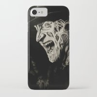 freddy krueger iPhone & iPod Cases featuring Freddy Krueger by Gabriel Fox