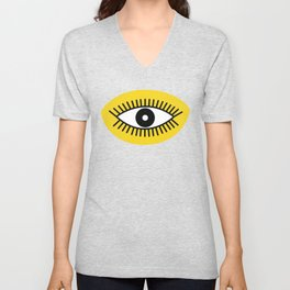 Opened Eye Unisex V-Neck