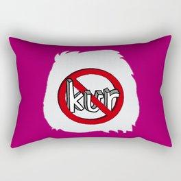 Dun Kur Bear [Don't Care Bear Pink] Rectangular Pillow