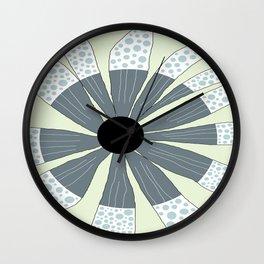 FLOWERY SIMONE / ORIGINAL DANISH DESIGN bykazandholly Wall Clock