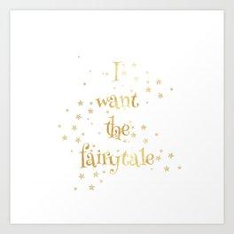 Fairytale 2 Art Print