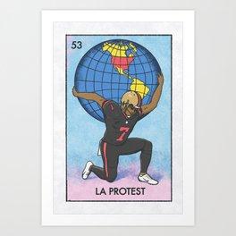 La Protest Art Print