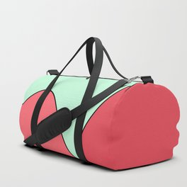 Happy Place - Coral Mint Duffle Bag
