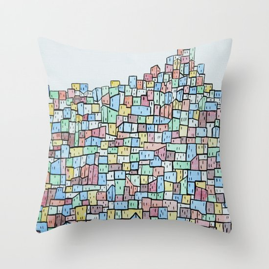 Hill. Throw Pillow