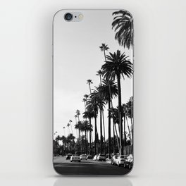 Los Angeles Black and White iPhone Skin