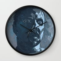 leon Wall Clocks featuring Leon Kowalski by Beery Method