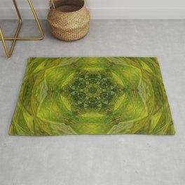 Mossy Kaleidoscope Rug