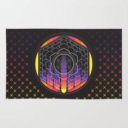 Metatron's Cube Rug