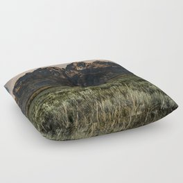 Teton Morning Floor Pillow
