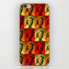Rita Hayworth Color iPhone & iPod Skin
