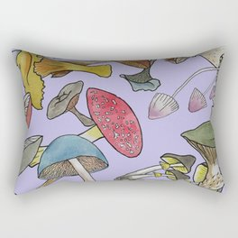 Fun Fungi Rectangular Pillow