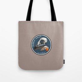 Erithacus rubecula Tote Bag